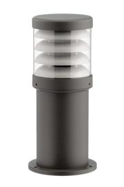 Buitenlamp serie Polo sokkel 35cm raster antraciet nr: 402.035