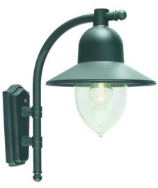 Buitenlamp wand serie Romanzo ALU zwart E27 nr: 3024