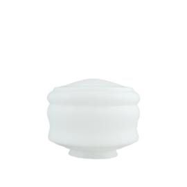 Glazen bol model Melting Pot opaal wit d-24cm h-17cm gr-12,7cm nr 497.00