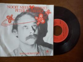 Peter Schreiber met Nooit meer verliefd 1981 Single nr S20211258