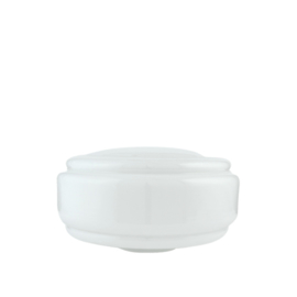 glazen bol model Dallas opaal wit d-30cm h-16cm gr-11cm nr 493.00