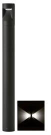 Buitenlamp mast Lako h-60cm 2 zijden licht LED 7W antraciet nr 409.060/2