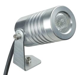 Buitenspot wand en vloer 3W LED RVS kleur nr R2in1