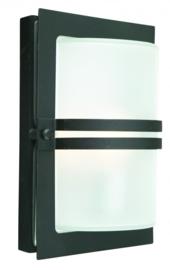 Buitenlamp wand gegalvaniseerd zwart serie Timbra nr: 3070
