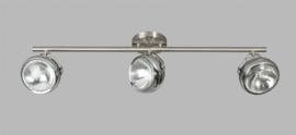 Plafondspot Head 3L h20cm staalkleur nr 05-SP4251-1117