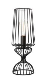 Tafellamp model Wire zwart h-43cm d-17cm E27 nr 05-TL3302-30