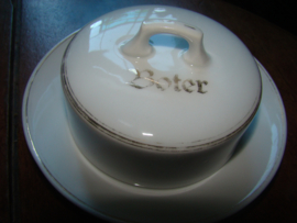 Botervloot met opschrift boter.