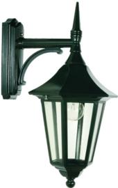 Buitenlamp wand neer serie Tessaro ALU zwart nr: 3031