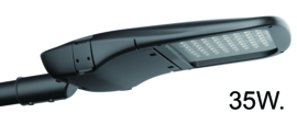 Buitenlamp wand serie City antraciet h-13cm LED 35W nr 10-20330
