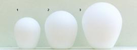 Glazen kap bolvormig model Ballon klein (1) nr: 200.39 Opaal Mat