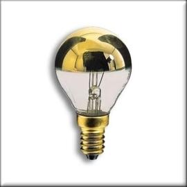 Osram kopspiegel kogellamp Goud 25W E14 nr: 15-P-25GOUD