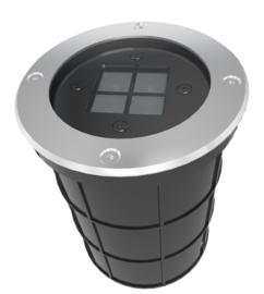 Buitenspot grond RVS kantelbaar LED dia-19cm nr 10-335743