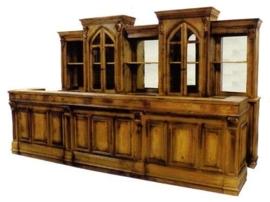 Bar + achterwand nr. 3 afgebeeld 450cm