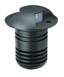 Buitenspot grondspot 2-bundels ALU antraciet LED 5W gat 6,4cm nr 5385