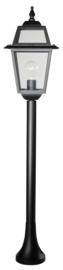Buitenlamp mast 103cm serie Perla zwart nr: 133