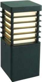 Buitenlamp serie Selham staand 26cm zwart nr: 3475
