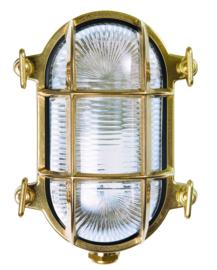 Buitenlamp wand serie Maritiem messing S h17cm nr 232015-32