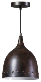 Hanglamp showmodel Brown Brass serie Wickie d26cm h140cm nr 05-HL4372-01