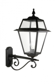 Buitenlamp wand 66cm serie Perla zwart nr: 140