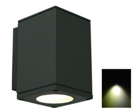 Buitenspot wand grafiet 1xGU10 incl. LED h-21cm nr: 3059
