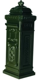 Staande brievenbus antiek donker groen serie Nuova nr 1582