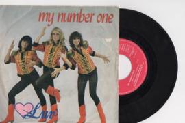 Luv' met My number one 1980 Single nr S20208