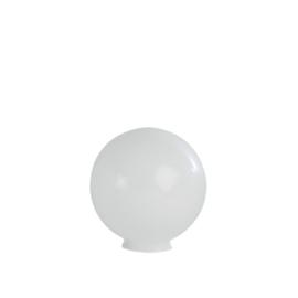 Glazen bol rond opaal diameter 20cm nr2 op foto 2000.00