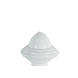 Glazen kap bolvormig model oliepot medium (2) nr: 250.00 Opaal