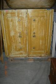 Antieke bankkluis +/- 1910 met 2 deuren