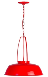Hanglamp Brindisi rood 1xE27 d-45cm nr 05-HL4359-3189
