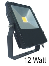 Buitenspot spotpro zwart 12W LED h-20cm nr 10-45530