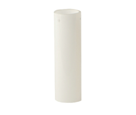 Mondgeblazen kap cilinder d6cm h20cm 3-pins opaal nr 6320.00