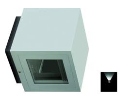 Gevelspot pro 1 zijde licht CDMT 35W Alu grafiet nr 10-321002