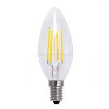 Global-Lux filament kaarslamp E14 2W 230V helder 2200k nr 6-182543