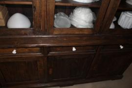 6-deurs winkelkast schuifdeuren flintstone afwerking br-197cm