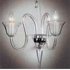 Boheems kristal helder glazen wandlamp nr 21 5081 002 0601