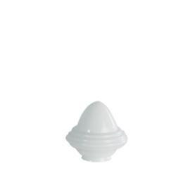 Glazen kap bolvormig model oliepot klein (1) nr: 165.00 opaal