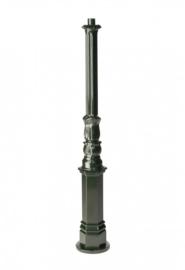 Buitenlamp mast h-132cm antiek groen serie Nuova nr 1507