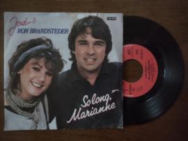 Jose & Ron Brandsteder met So long, marianne 1983 Single nr S20211259