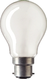 Global-lux standaardlamp B22 (bajonet) mat 40W 230V 6-140122-RC
