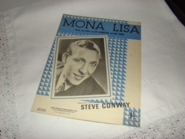 Muziekblad  Mona Lisa