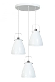 Hanglamp Acate 3L rond dia 26,5cm wit nr 05-HL4242-31