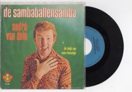 Andre van Duin met De Sambaballensamba 1974 Single nr S2021857