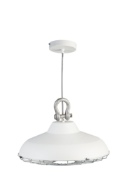 Hanglamp model Industry wit metaal 45cm E27 nr 05-HL4366-31