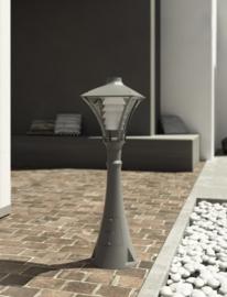 Buitenlamp staand serie City h-178cm E27 IP65 ALU grafiet nr 10-20285E27