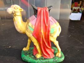Oude kameel voor de kerstal.