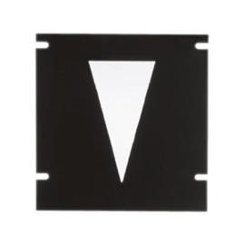 Lens voor CDMT spot metaal uitlopende  bundel nr 10-321095