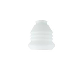 Glazen kap lantaarntje d13cm h12cm gr5,5cm E27 opaal nr 444.00