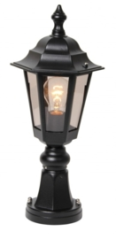 Buitenlamp sokkel serie Berlusi II in 2 kleuren leverbaar nr: FL126