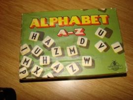 0ud spel ``Het Alphabet-Spel`` VERKOCHT